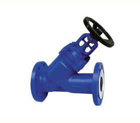 DIN Y-pattern Bellows Globe Valve